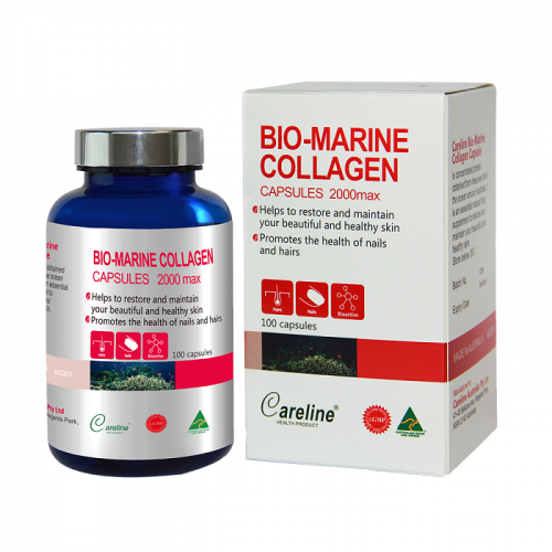 Careline Bio Marine collagen 100v