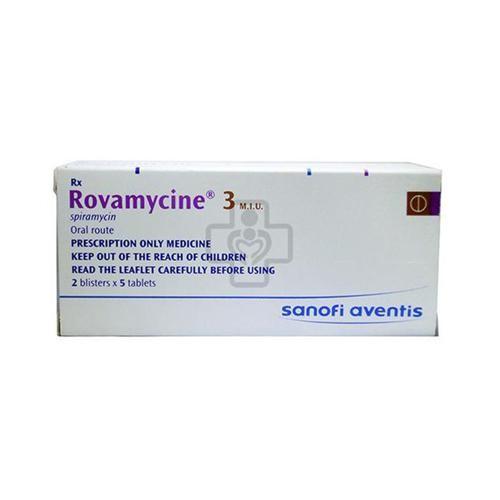 Rovamycin 3 M.I.U (10v/2vi/H)