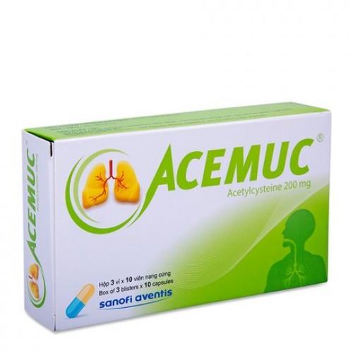 Acemuc 200mg - Viên (30v/3v/H)