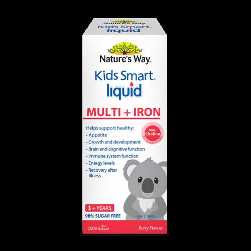 Nature's way kids Smart Liquid Multi + Iron