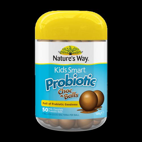 Nature's way Kids Smart Probiotic Choc Balls 50v