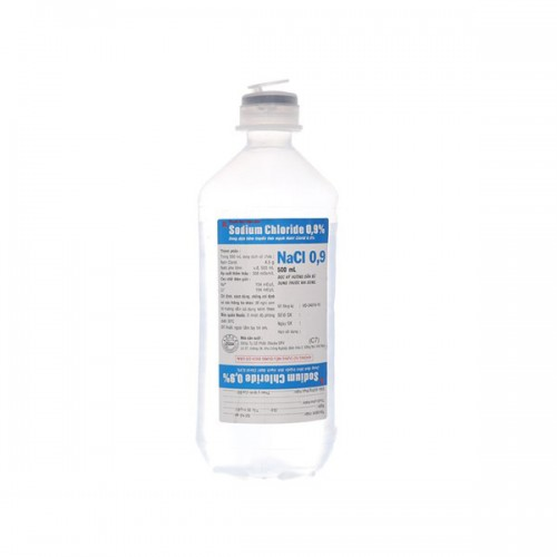 Dịch truyền tĩnh mạch Natri Clorid 0,9% 500ml