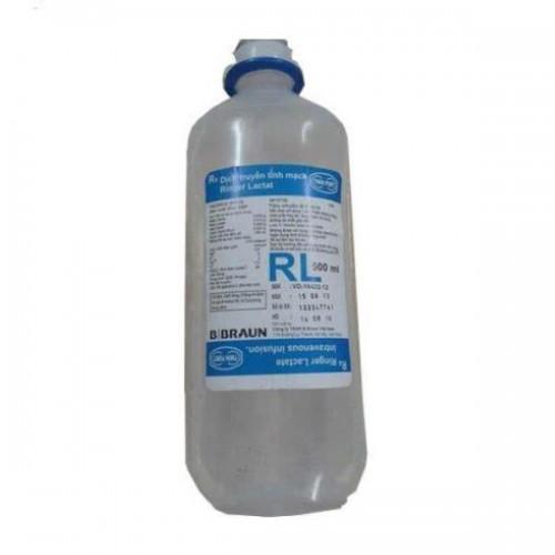 Dịch truyền tĩnh mạch Ringer lactt 500ml (RL)