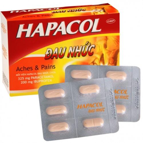 Hapacol Đau nhức (Hộp 10 vỉ x 5 viên)