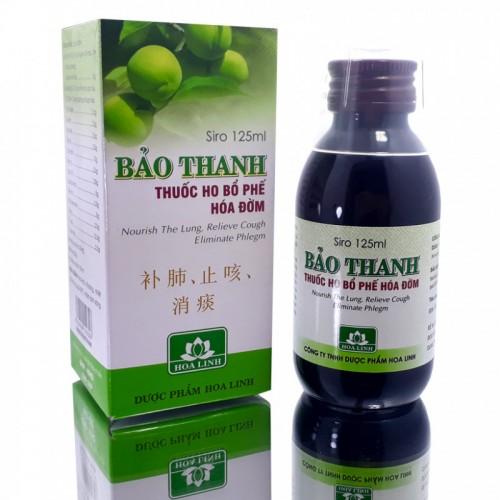 Thuốc Ho Bảo Thanh Siro 125ml