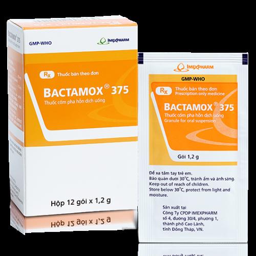 Bactamox 375 Imex (12gói x 1.2g/H)