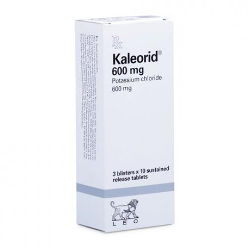Kaleorid 600mg( hộp 3 vỉ x 10 viên)