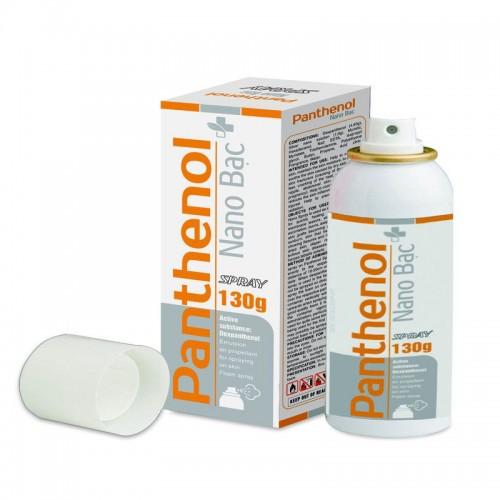 Panthenol Xịt Nano bạc 130 g ( 1 lọ / hộp)