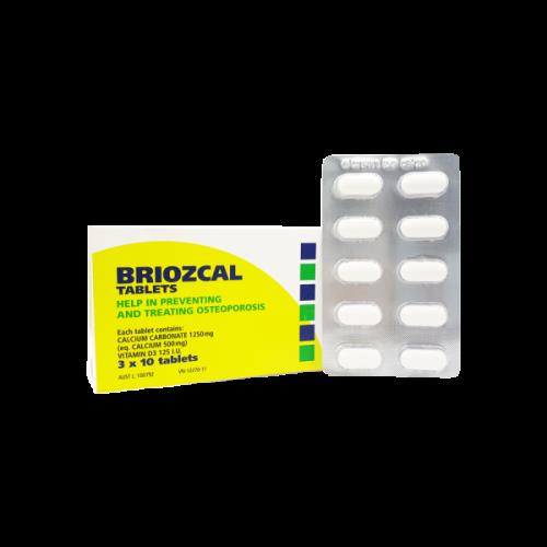 Briozcal (30v/ 3 vỉ/H)