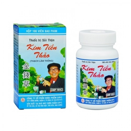 Kim Tiền Thảo Bao phim OPC (100v/lọ)