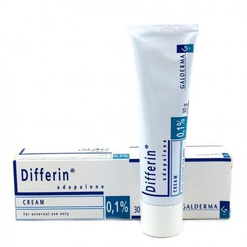 Differin Cream 0,1% (30g/tuýp)