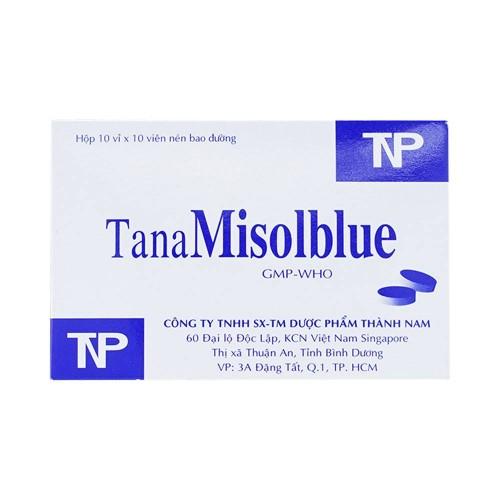 TanaMisolblue 20mg (Hộp 10 vỉ x 10 viên)