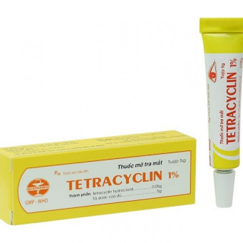 Tetracyclin 1% Tub 5g (100 Tuýp/Hộp)