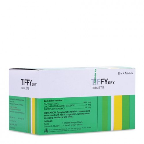 Tiffy (100v/25 vỉ/H)