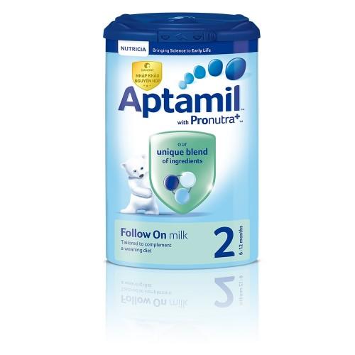 Aptamil số 2 - từ 6-12m 900g (Anh)