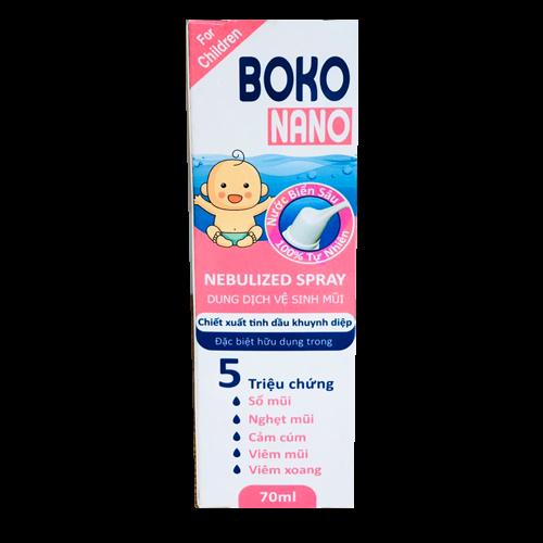 DD vệ sinh mũi Boko Nano For Children 70ml