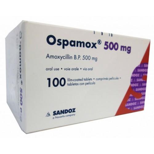 Ospamox 500mg (Amoxicillin)