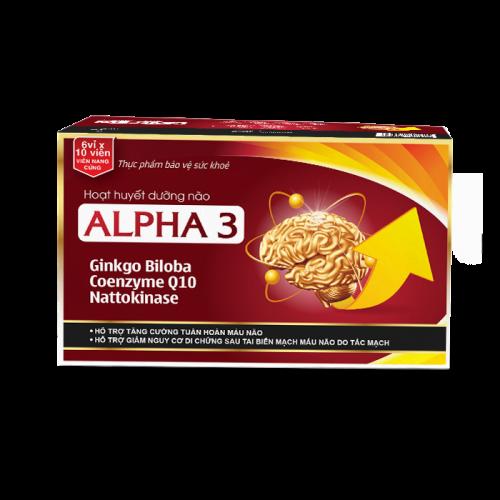Hoạt huyết dưỡng não Alpha 3