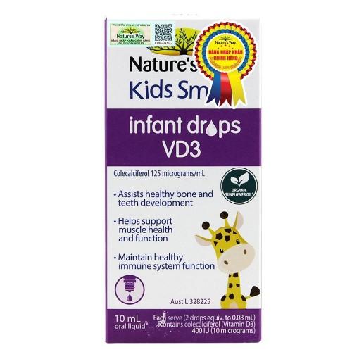 Nature's Way Kids Smart Infant Drops VD3