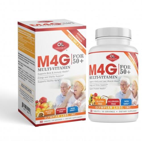M4G Multi-Vitamin For 50+ - Bổ sung vitamin và khoáng chất cho người trên 50 tuổi