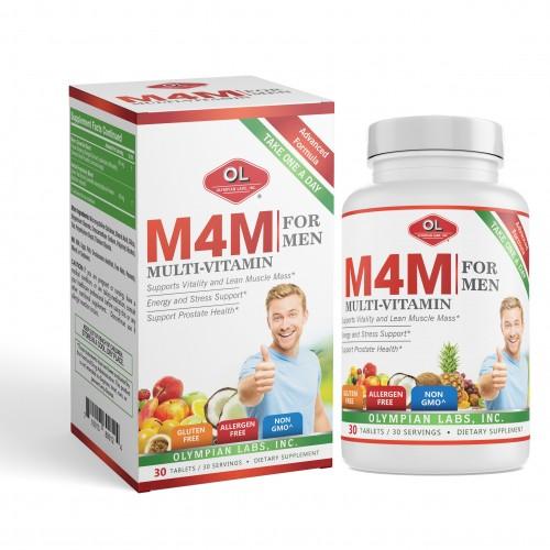 M4M Multi-Vitamin For Men - Bổ sung vitamin và khoáng chất cho nam giới