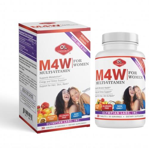 M4W Multi-Vitamin For Women – Bổ sung vitamin và khoáng chất cho nữ giới