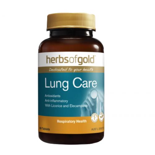 Herbs of Gold Lung Care - Thực phẩm hỗ trợ và tăng cường sức khỏe đường hô hấp