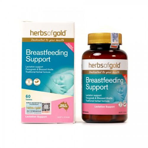 Herbs Of Gold Breastfeeding Support - Viên uống lợi sữa