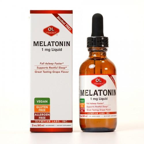 Melatonin 1mg - Hỗ trợ điều hòa và cải thiện giấc ngủ