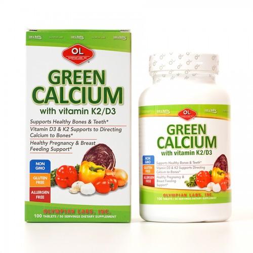 Olympian labs Green calcium 100v